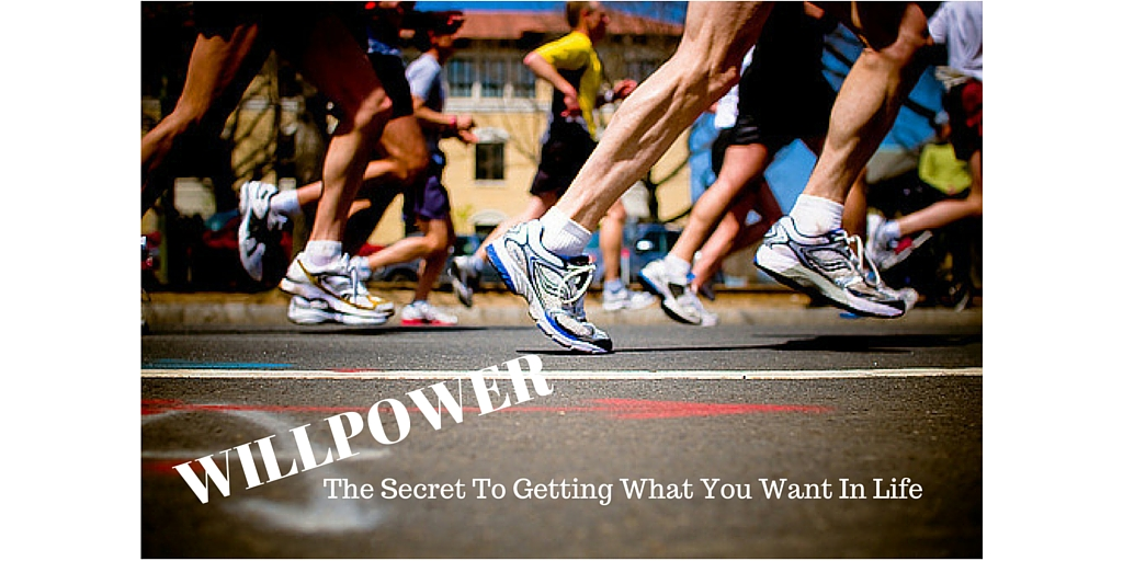 WILLPOWER —The Secret To Getting What You Want In Life
