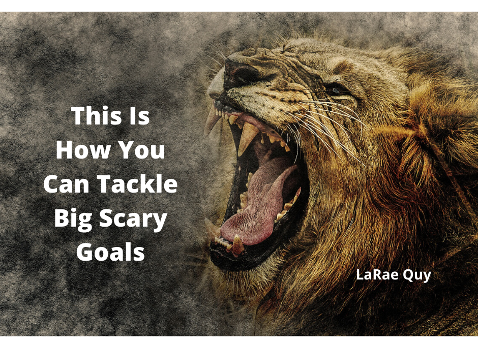 This Is How You Can Tackle Big Scary Goals