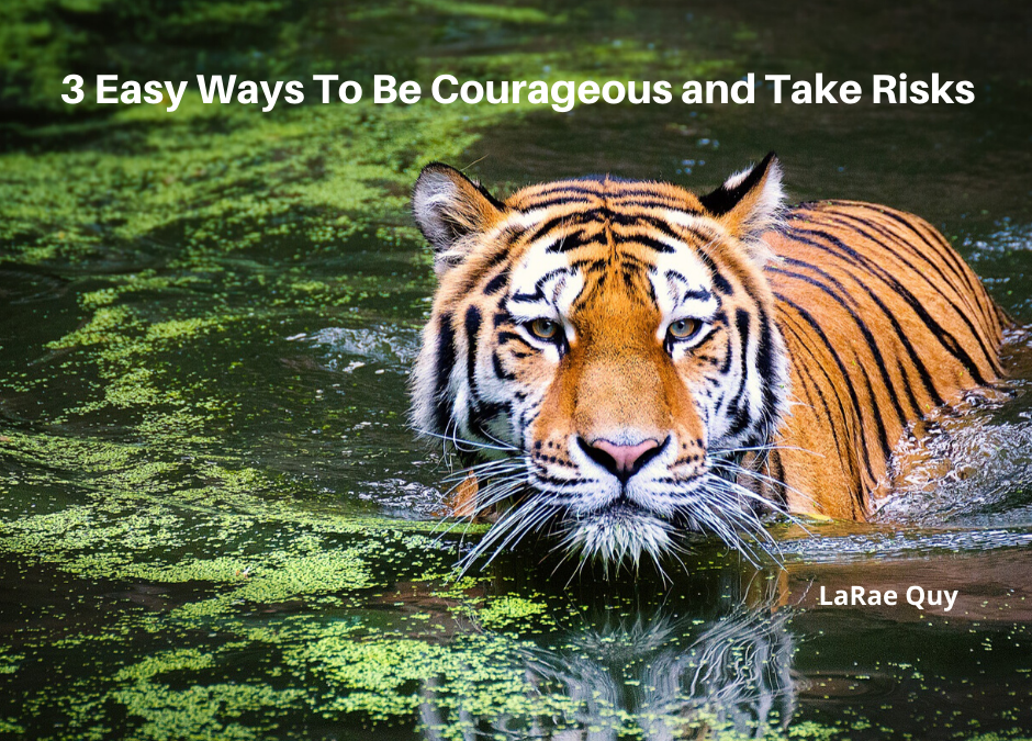 3 Easy Ways To Be Courageous And Take Risks