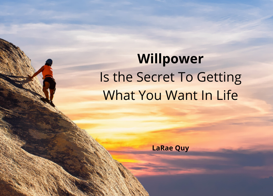 Willpower Is The Secret To Getting What You Want In Life